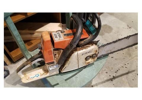 Stihl 026 chain saw