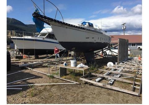 1979 Cascade Yacht Sailboat hull 46